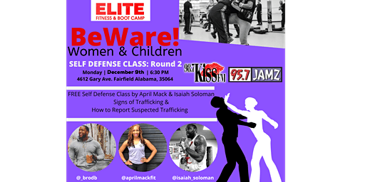 BeWare Self Defense Class