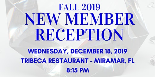 Fall 2019 YAZ New Member Reception