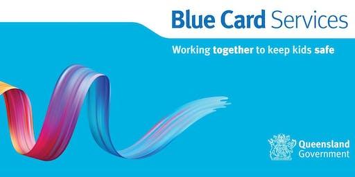 Blue Card Information Session: Brisbane Community Hub
