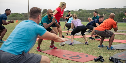 Free Community Workout with Camp Gladiator Outdoor Fitness