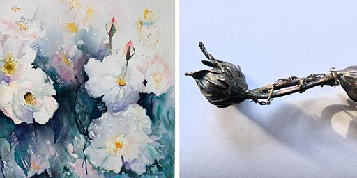 Free Artist Demonstrations: Watercolour and Jewellery