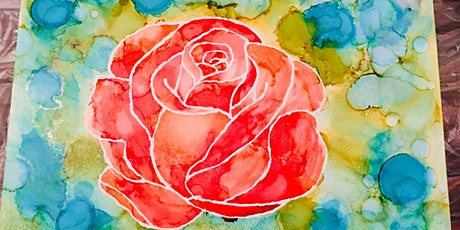 Alcohol ink florals $50 tickets