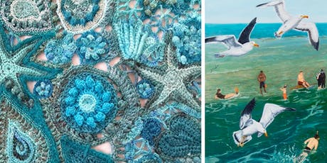Free Artist Demonstrations: Crochet and Nature Painting tickets