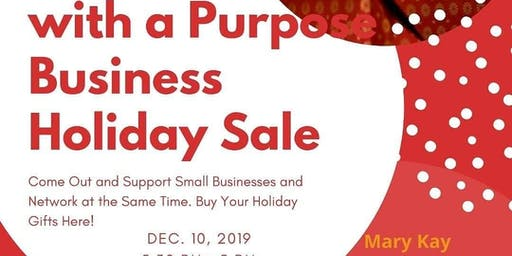 Networking with a Purpose Business Holiday Sale