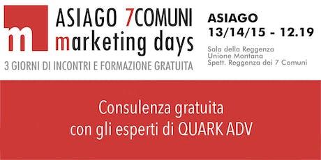 Consulenza  marketing gratuita biglietti