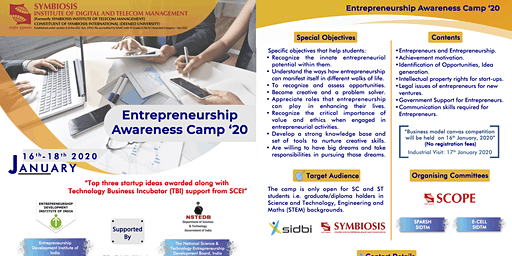 Entrepreneurship Awareness Camp 2020