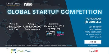 Global Startup Competition - Brussels roadshow - AngelHub & WHub tickets