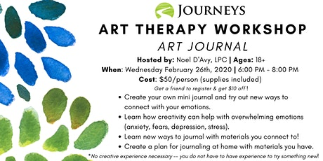 Art Therapy Workshop - Painting Journal tickets