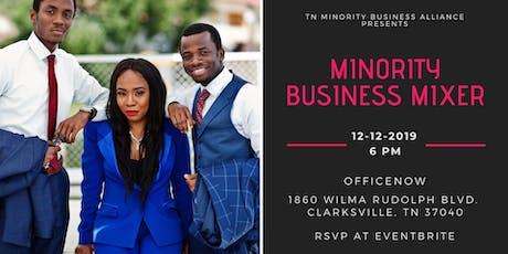 Minority Business Mixer - 1 tickets