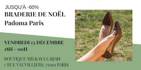 Braderie De Noël Padoma Paris billets