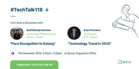 #TechTalk118 tickets