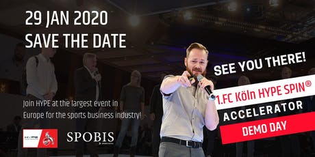 1.FC Koln HYPE SPIN® Accelerator Demo Day tickets
