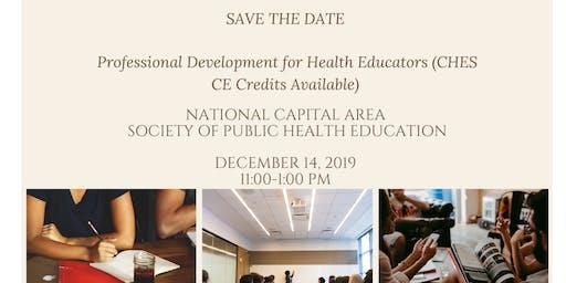 Professional Development Seminar for Health Educators (CE Credits)