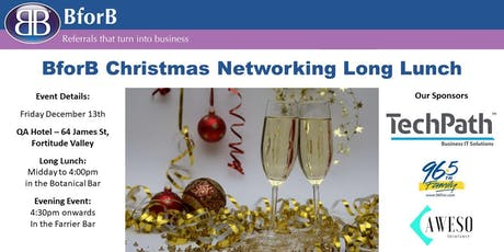 BforB Christmas Long Lunch tickets