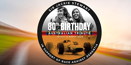 Sir Jackie Stewart's 80th Birthday Tribute tickets