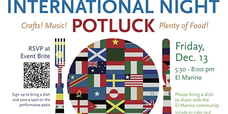 El Marino International Potluck and Performances tickets