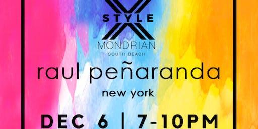Raul Peñaranda Art Basel Designer Presentation + Cocktail Party