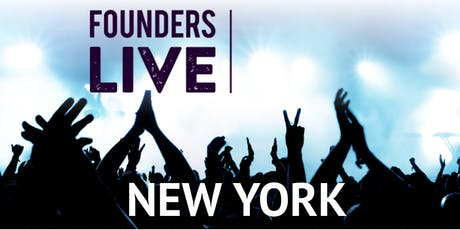 Founders Live NYC tickets