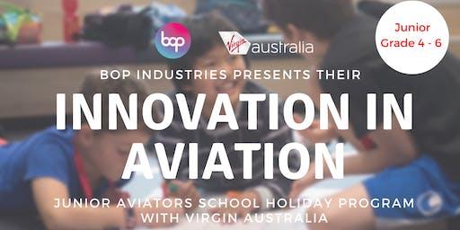 Junior Aviators School Holiday Program With Virgin Australia - 1 Day Program
