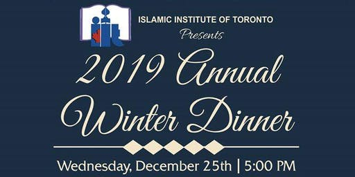 Winter Dinner with Dr. Suzy Ismail