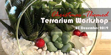 Chrismas-Themed Terrarium Workshop tickets