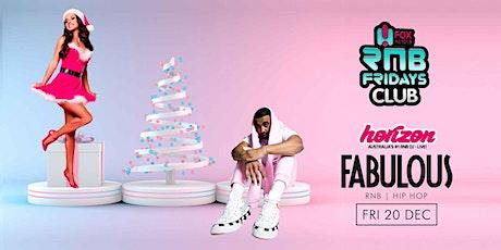 FABULOUS FRIDAYS Level 3 Nightclubs  Friday 20th December tickets