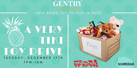 A Very Tiki Toy Drive with Toys For Tots tickets