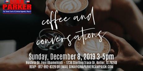Coffee & Conversation with Gina Parker tickets