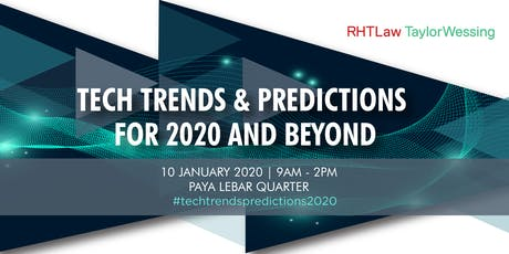 Tech Trends & Predictions for 2020 and beyond tickets