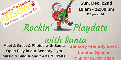 Sensory Friendly Santa tickets