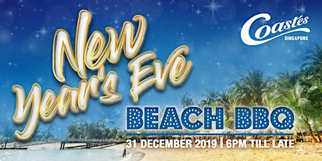 New Year's Eve Beach BBQ Countdown Party tickets