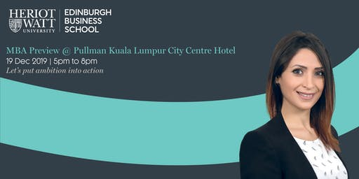 MBA Preview by Edinburgh Business School
