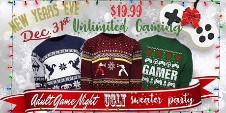 New Years Eve Adult Game Night & Ugly Sweater Party tickets