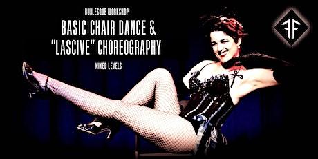 "Burlesque Workshop: Chair Dance Basics & ""Lascive"" Choreo - Fishnet Follies tickets"
