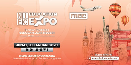 NIEC Education Expo 2020 - Yogyakarta tickets