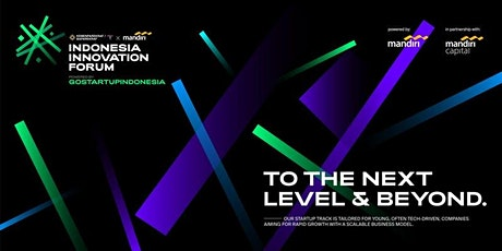 Indonesia Innovation Forum 2019   General Attendance tickets