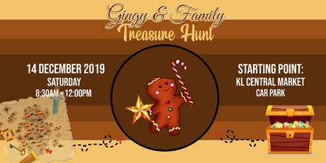 Gingy Treasure Hunt (with Augmented Reality) tickets