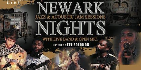 NEWARK NIGHTS Jazz & Acoustic Jam Session tickets