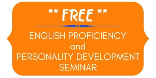 English Proficiency and Personality Development Seminar