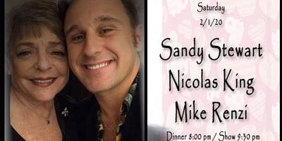 Sandy Stewart and Nicolas King with MIKE RENZI