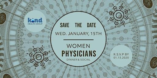 Women Physicians Dinner & Social - Jan 15, 2020