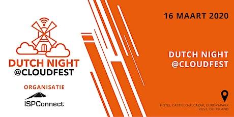 Dutch Night @CloudFest 2020 (Dutch only) billets