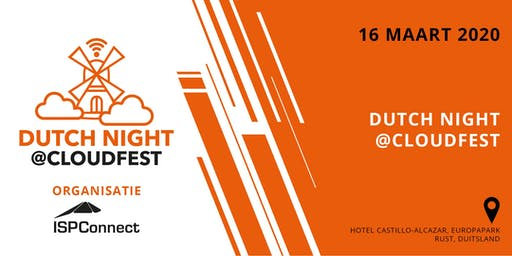 Dutch Night @CloudFest 2020 (Dutch only)