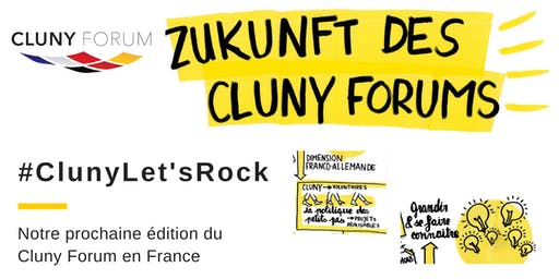 "Workshop ""Let's rock Cluny Forum 2020"""