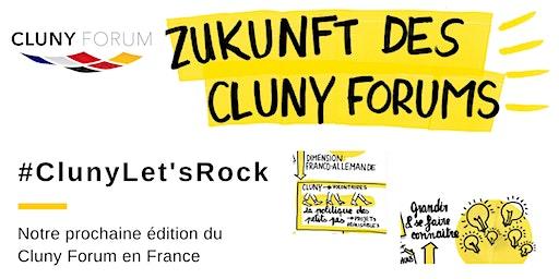 """Workshop """"Let's rock Cluny Forum 2020"""""""