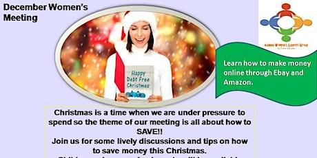December women's meeting -12 Days of Christmas Spending tickets
