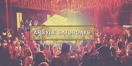 Argyle Saturdays at The Argyle Free Guestlist - 12/14/2019