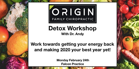 Detox Workshop with Dr. Andy tickets