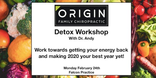 Detox Workshop with Dr. Andy