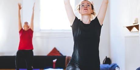 Free Yoga Taster tickets
